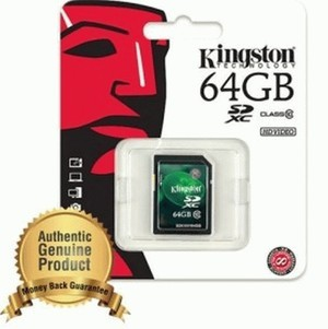 Kingston Secure Digital Extended Capacity SDHC/SDXC Flash Card Class 10 - 64GB