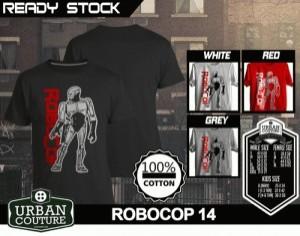 Kaos ROBOCOP Disain ROBOCOP 14