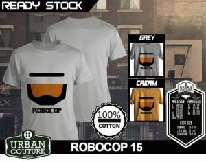 Kaos ROBOCOP Disain ROBOCOP 15
