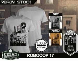 Kaos ROBOCOP Disain ROBOCOP 17