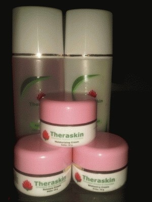Theraskin Paket Whitening kulit normal & berminyak
