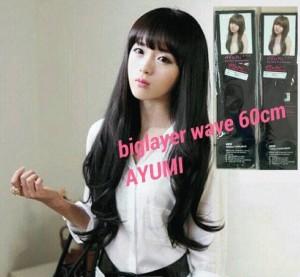 hair clip 1 big layer aYUMI
