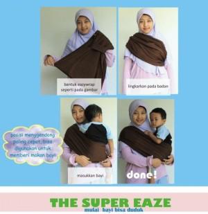 Easy wrap Hanaroo (Gendongan bayi)