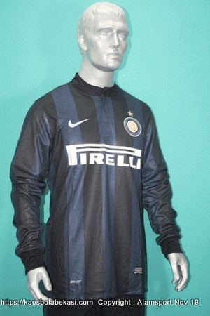 Jersey Long Sleeve Inter Home