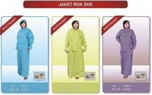 jas hujan Jaket rok - Untuk wanita yang menggunakan rok