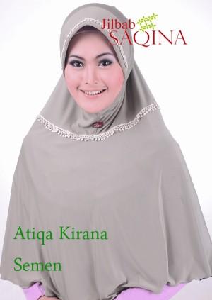 Jilbab Instan Syar'i Atiqa kirana