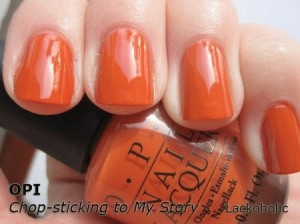 OPI - Chop Sticking To My Story