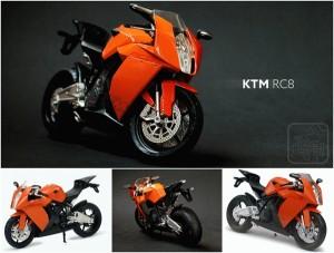 1/12 Die Cast KTM RC8