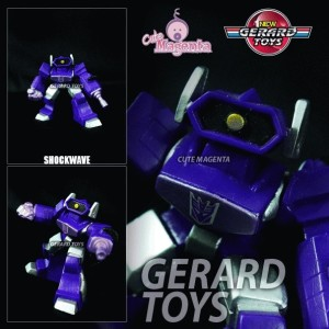 Shockwave - Squad Heroes - Transformers - Hasbro - Loose