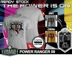 Tshirt POWER RANGER 09