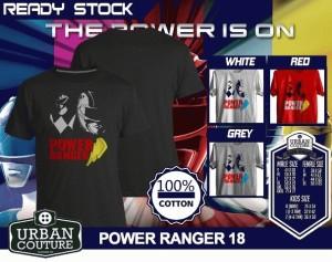 Tshirt POWER RANGER 18