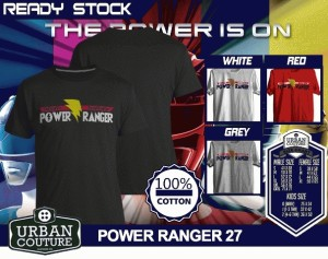 Kaos POWER RANGER 27