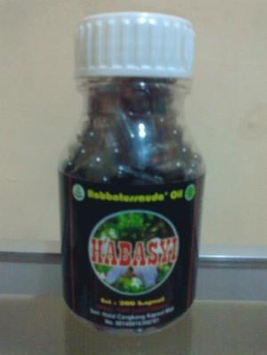 Habbatussauda oil isi 100 kapsul