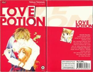 LOVE POTION [KOMIK] by Nobuyo Yamamoto