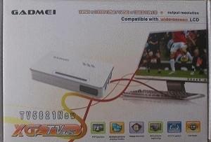 TV TUNNER GADMEI TV5821 NEW