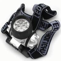 Senter Kepala 12-LED