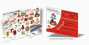 ABACA FLASHCARD English Series Delicious Cake