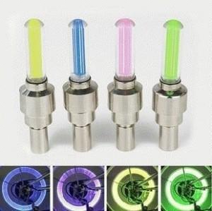 Tutup Pentil LED 1-Warna untuk Sepeda / Sepeda Motor