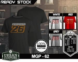 Tshirt MOTO GP, Desain MGP - 62