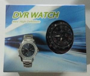 Spy Cam Jam Tangan 4 GB  - Kulit & Rantai