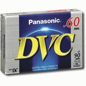 Panasonic - Mini DV Cassette