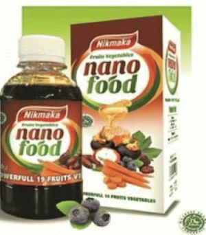 Suplemen 19 buah & sayur, teknologi nano, antioksidan, multi vitamin, serat alami herbal; blackberry, blueberry