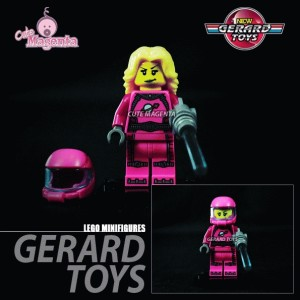 Minifigures Astronot Girls - Lego