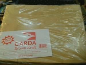 Amplop - Garda - A4 Brown craft