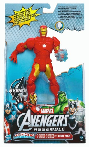 Marvel Mighty Battler - Avengers Assemble series 1 - Iron Man