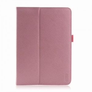 iPearl iPad Air Leather Cover with Stand - Candy Pink