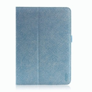 iPearl iPad Air Leather Cover with Stand - Light Blue
