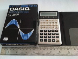 KALKULATOR CASIO FX 3800P