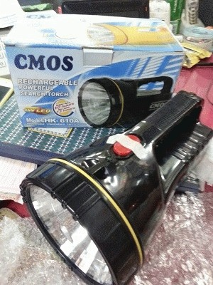 Emergency Light / Lampu Senter CMOS HK 610A