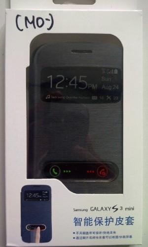 Flip Cover Samsung S3 Mini View Hitam