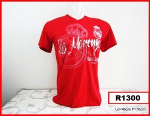 T-Shirt Real Madrid - Red / Merah