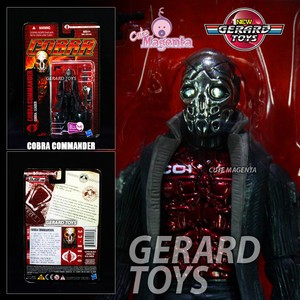 Cobra Commander - GIjoe POC - Hasbro - MOC