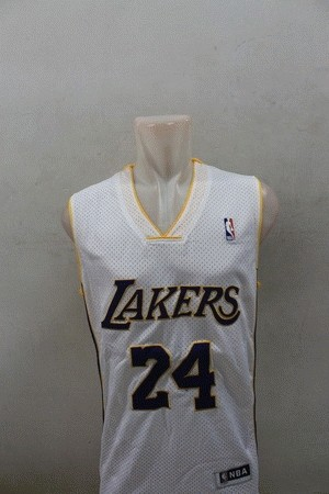 Jersey Los Angeles White BRYANT#24