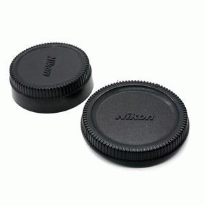 Tutup body + Tutup belakang lensa NIKON (NIKON body cap + lens rear cap)