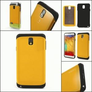 Slim Armor Case Series for Samsung Galaxy Note 3 N9000 N9002 N9005 - Yellow