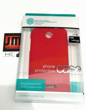 Hard Case Nillkin Super Frosted Shield - Lenovo A390 (Red)