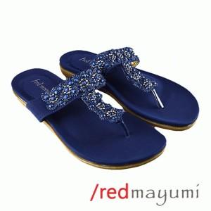 Sandal sunflower Navy blue SA001-3