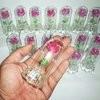 setangkai mawar Kaca menyala 3 warna