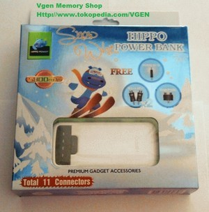 POWERBANK 5800 MAH HIPPO WHITE