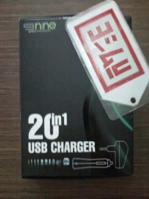 20-in-1 (10in1 for 2 Ways Charging) Essential USB & Car Charger by 9nine