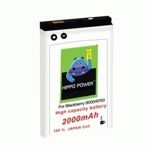 Baterai Hippo Power MS-1 2000 mAh untuk BlackBerry Bold, Onyx I, Onyx II