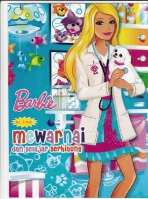 Barbie (Buku Bergambar Mewarnai dan belajar Berhitung)