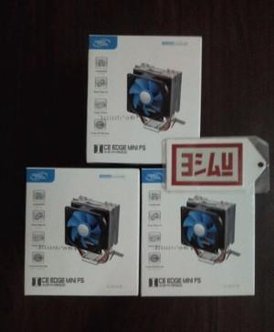 Deep Cool Ice Edge Mini FS | InteL 775/1156/ AMD's Processor Fan