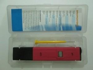 PH meter (merk ATC original)pengukur asam dan basa air minum,kolam renang/ikan