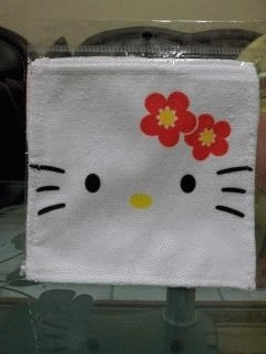 Saputangan kitty white