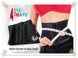 four step slimming belt